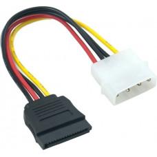 Кабель Extradigital Serial ATA Power Cable, 18 AWG, 0.16m
